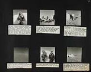 MIKAN 5350468 Inuk boy in caribou skin parka; Inuit men arriving by dogsled; Inuk boy going home; Aerial view of Inuit encampment; Inuuk children; Inuit rushing to camp on dogsleds. 1949 [Inuk boy in caribou skin parka; Inuit men arriving by dogsled; Inuk boy going home; Aerial view of Inuit encampment; Inuuk children; Inuit rushing to camp on dogsleds., 1949]