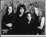 MIKAN 4381868 Press portrait of the band Dorian Gray. [ca. 1990]. [Press portrait of the band Dorian Gray., [ca. 1990].]