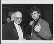 MIKAN 4444104 John McDermott (right) with Walt Grealis  [between 1993-1997]. [John McDermott (right) with Walt Grealis, [between 1993-1997].]