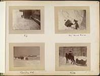 MIKAN 4801472 Tip / His Snow House / Cavalry SC / Milk ca. 1884-1885. [Tip / His Snow House / Cavalry SC / Milk, ca. 1884-1885.]