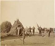 "MIKAN 3406951 Camp ""B"" Battery. 1884 - 1888. [Camp 'B' Battery., 1884 - 1888.]"