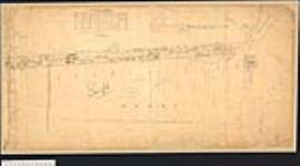 MIKAN 2148387 Plan of the Half Mile Strip in Keppel, Amabel, Arran and Derby Townships,Ontario. / 1852. [Plan of the Half Mile Strip in Keppel, Amabel, Arran and Derby Townships,Ontario. /, 1852.]