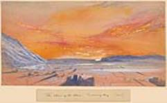 MIKAN 2834017 Return of the Sun to Discovery Harbour, Ellesmere Island. 1 March 1876 [Return of the Sun to Discovery Harbour, Ellesmere Island., 1 March 1876]