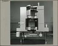 MIKAN 4980289 Model of the N.R.X Reactor [graphic material] 1955. [Model of the N.R.X Reactor [graphic material], 1955.]