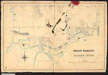 MIKAN 2148370 Plan of Garden River Indian Reserve, also shows Duncan and Kehoe Townships. [not after 1965]. [Plan of Garden River Indian Reserve, also shows Duncan and Kehoe Townships., [not after 1965].]