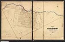 MIKAN 2148398 Plan showing the town plot of Shaftesbury or Little Current, township of Howland, Manitoulin Island, Ontario. 1867. [Plan showing the town plot of Shaftesbury or Little Current, township of Howland, Manitoulin Island, Ontario., 1867.]