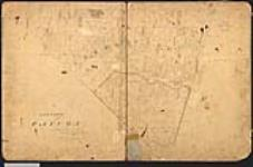 MIKAN 2148170 Plan of the township of Cayuga, showing North Cayuga and South Cayuga. 1834. [Plan of the township of Cayuga, showing North Cayuga and South Cayuga., 1834.]