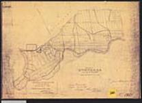 MIKAN 2148428 Plan of Onondaga Township, county of Brant. / 1842. [Plan of Onondaga Township, county of Brant. /, 1842.]