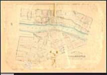MIKAN 2148437 Plan showing the town plot of Caledonia, township of Seneca, exhibiting the boundaries of the different claimants. / 1845. [Plan showing the town plot of Caledonia, township of Seneca, exhibiting the boundaries of the different claimants. /, 1845.]
