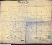 MIKAN 2148442 Plan of the village of Bronte on Twelve Mile Creek, con. 4, Trafalgar Township. / 1834. [Plan of the village of Bronte on Twelve Mile Creek, con. 4, Trafalgar Township. /, 1834.]
