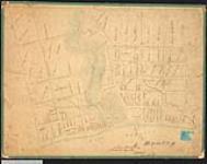 MIKAN 2148221 Plan of town plot of Bronte showing Twelve Mile Creek and Lake Ontario, con. 4, Trafalgar Township. 1839. [Plan of town plot of Bronte showing Twelve Mile Creek and Lake Ontario, con. 4, Trafalgar Township., 1839.]