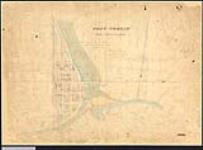 MIKAN 2148226 Plan of the town of Port Credit. 1844. [Plan of the town of Port Credit., 1844.]