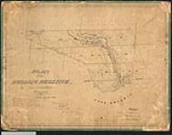 MIKAN 2148350 Plan of the Indian Reserve, River Credit, Ontario. / 1846. [Plan of the Indian Reserve, River Credit, Ontario. /, 1846.]