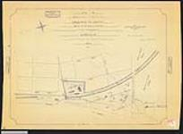 MIKAN 2148459 Plan of part of the Sarnia Indian Reserve known as the Mission Ground, sold to the Great Western Railway Company. / 1873. [Plan of part of the Sarnia Indian Reserve known as the Mission Ground, sold to the Great Western Railway Company. /, 1873.]