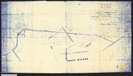 MIKAN 2148475 Plan showing revised location of that part of the Ottawa, Arnprior and Parry Sound Railway, passing through the Golden Lake Indian Reservation, South Algona, county of Renfrew, Ontario. / 1894. [Plan showing revised location of that part of the Ottawa, Arnprior and Parry Sound Railway, passing through the Golden Lake Indian Reservation, South Algona, county of Renfrew, Ontario. /, 1894.]