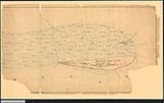 MIKAN 2148269 Plan of Fighting Island, Detroit River, with the adjacent marshes, also known as Ile aux Dindes or Turkey Island. / 1858. [Plan of Fighting Island, Detroit River, with the adjacent marshes, also known as Ile aux Dindes or Turkey Island. /, 1858.]
