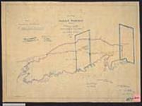 MIKAN 2148278 Plan of indian reserve situate at Serpent River, north shore of Lake Huron, being No.7, under the Treaty of September 9, 1850. / 1853. [Plan of indian reserve situate at Serpent River, north shore of Lake Huron, being No.7, under the Treaty of September 9, 1850. /, 1853.]