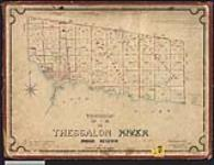 MIKAN 2148504 Plan of township of Thessalon. / 1877. [Plan of township of Thessalon. /, 1877.]