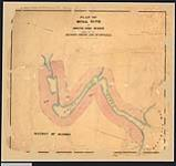 MIKAN 2148489 Plan of mill site at Whitefish River Indian Reserve No. 4 applied for by Messrs. Smith and McDougall. / 1883. [Plan of mill site at Whitefish River Indian Reserve No. 4 applied for by Messrs. Smith and McDougall. /, 1883.]