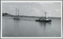 MIKAN 5063894 Wild Harp (Sailing Yacht) Tanac v.222 (tug) [graphic material] September 10, 1972. [153 KB, 1000 X 617]
