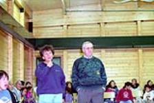 MIKAN 5178491 Cambridge Bay Hearings - colour negatives. 17 November 1992 [Cambridge Bay Hearings - colour negatives., 17 November 1992]