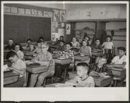 MIKAN 5188852 Integrated Grade Five Class, Public School. [between 1960-1969] (Print) [Integrated Grade Five Class, Public School., [between 1960-1969]]