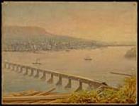 MIKAN 3665443 Victoria Bridge, Montreal. ca. 1860 [174 KB, 1000 X 762]