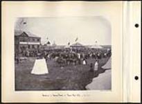 MIKAN 5112701 Reception to Governor General at Regina Fair, 1895. 1895 [131 KB, 1000 X 731]