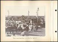 MIKAN 5112719 [View of crowd during interview between the Governor General and First Nation Chiefs at The Canadian Territorial Exhibition]. Original title: Interview between the Governor General and the Great Indian Chiefs, Regina Fair, 1895. 1895 [141 KB, 1000 X 729]