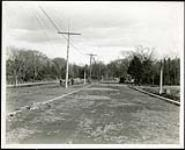 MIKAN 5066147 Federal District Improvement Commission Records. South bank of Canal looking east from Bronson Avenue. November 5, 1929 [Federal District Improvement Commission Records. South bank of Canal looking east from Bronson Avenue., November 5, 1929]