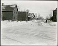 MIKAN 5066173 Federal District Improvement Commission Records. Looking north east on Robertson Street from Russell Road. January 29, 1930 [Federal District Improvement Commission Records. Looking north east on Robertson Street from Russell Road., January 29, 1930]
