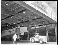 MIKAN 5233061 Unveiling of CF-105. 4 Oct. 1957 [514 KB, 2859 X 2242]