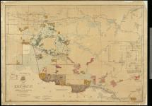 Map of part of Keewatin shewing Dominion Land Surveys to 31st December, 1876. [with Ms. additions showing Timber Limits of Fuller & Co., W.J. Macaulay, and S.H. Fowler.] [cartographic material].