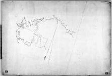 [Sketch of the portage routes across the height of land between Savanne Rivers and Dog River, a part of the line of Communication selected by S.J. Dawson between Thunder Bay and Fort Garry.] [cartographic material].