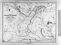 Map of the seat of Riel's insurrection showing the connection of Prince Albert with other points in the North West, Trails, Telegraph Lines &c., &c. [cartographic material]