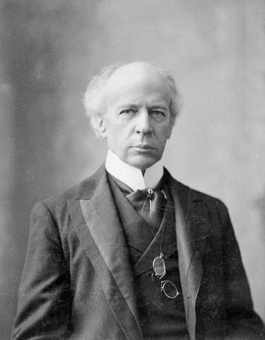 Photograph of Sir Wilfrid Laurier - Canada's 7th Prime Minister