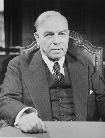 Photograph of William Lyon Mackenzie King - Canada's 10th Prime Minister