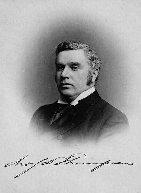Photograph of Sir John Sparrow David Thompson - Canada's 4th Prime Minister